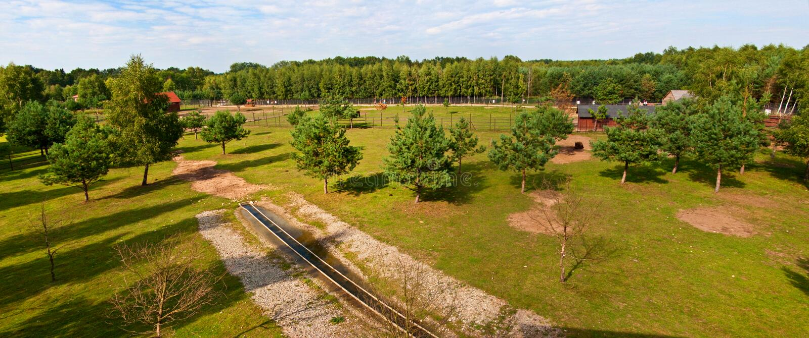 Download Open air zoo stock photo. Image of land, garden, evening - 34961240