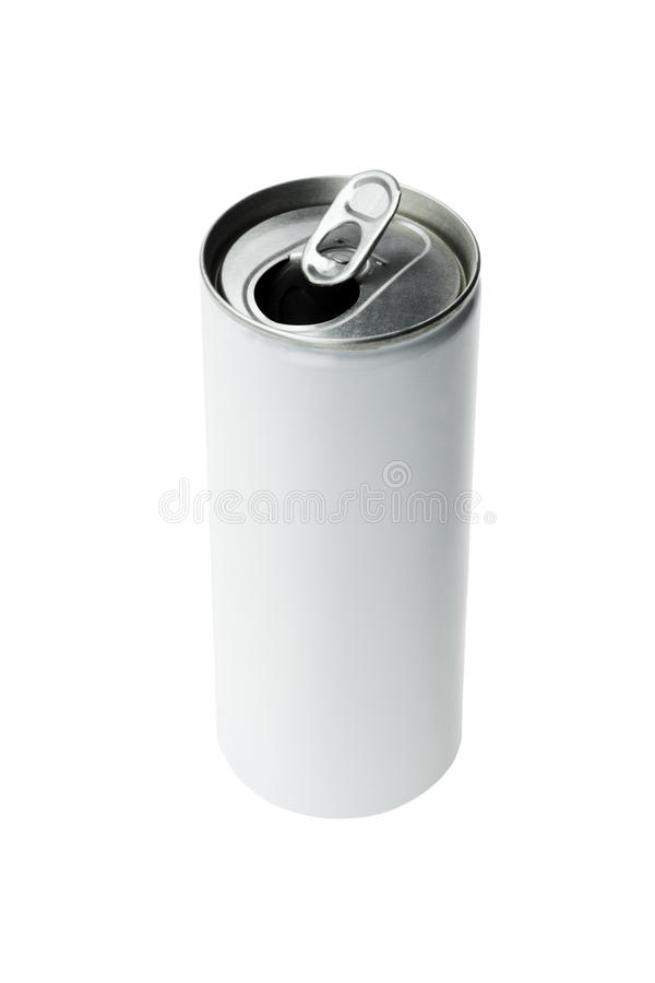 Open Aluminium Drink Can Stock Images