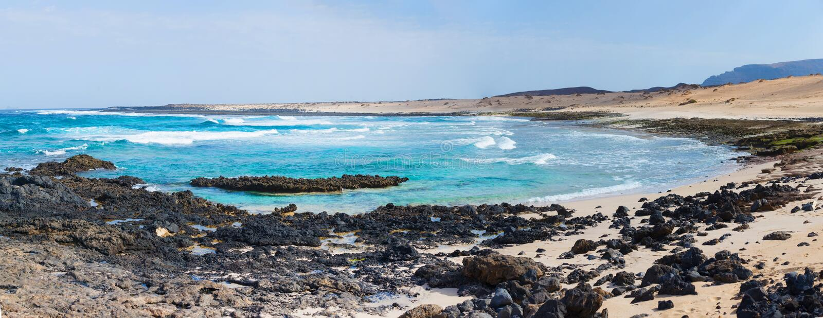 Download Open Beach On A Tropical Island Stock Image - Image: 25045775