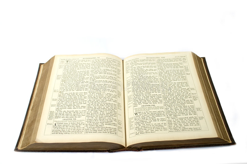Download Open bible stock image. Image of words, library, open, religion - 102945