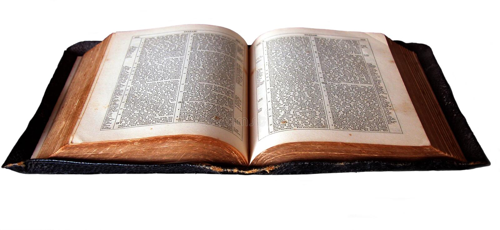 Download Open bible stock image. Image of chapters, holy, christian - 107445