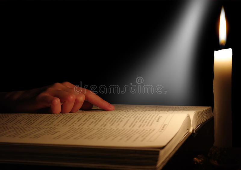 Download Open bible stock photo. Image of open, hands, text, christianity - 12489786