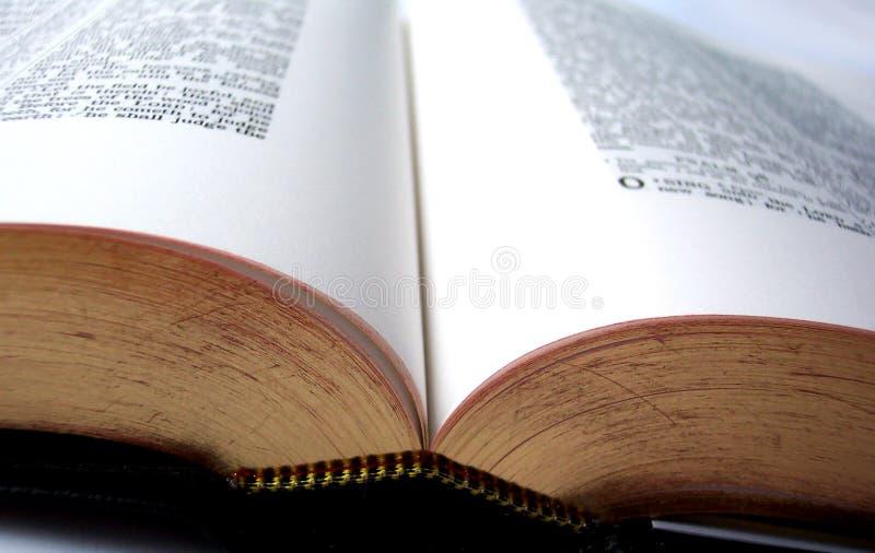 Download Open Bible stock image. Image of meditation, scriptures - 13201