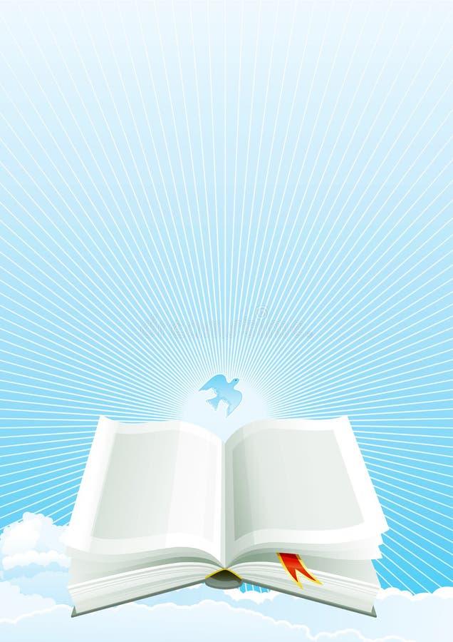 Open Bible At Heaven Stock Photos