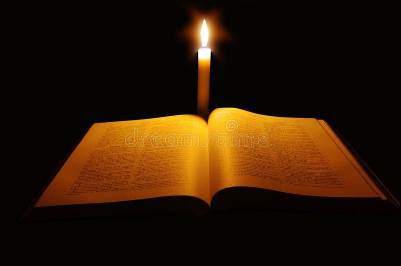 Open bijbel stock foto