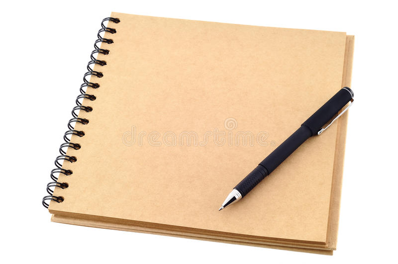 Download Open blank note book stock photo. Image of binder, business - 26035046