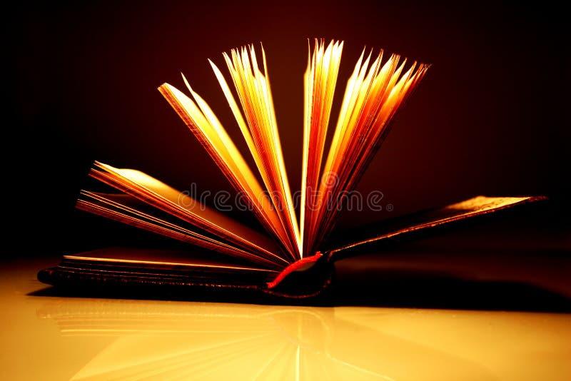 Open boek [2] royalty-vrije stock fotografie