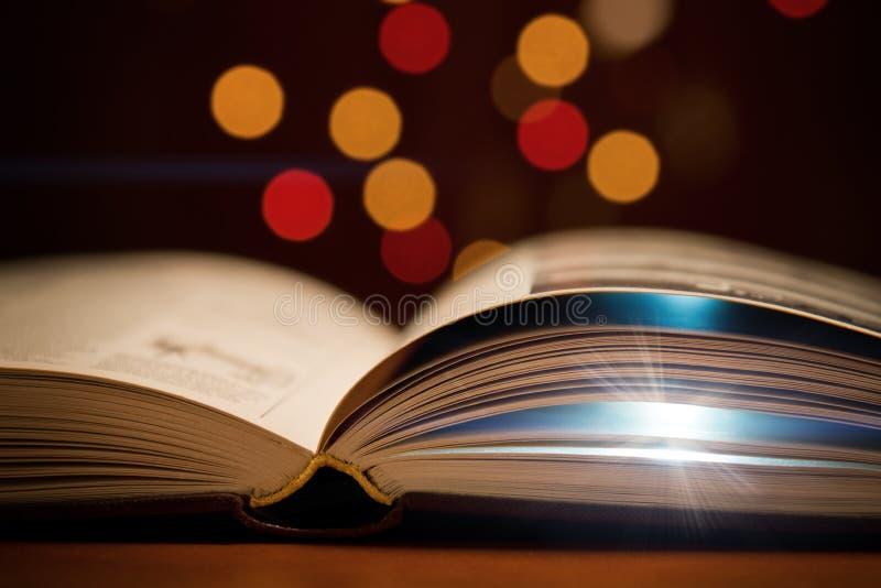 Open boek stock fotografie