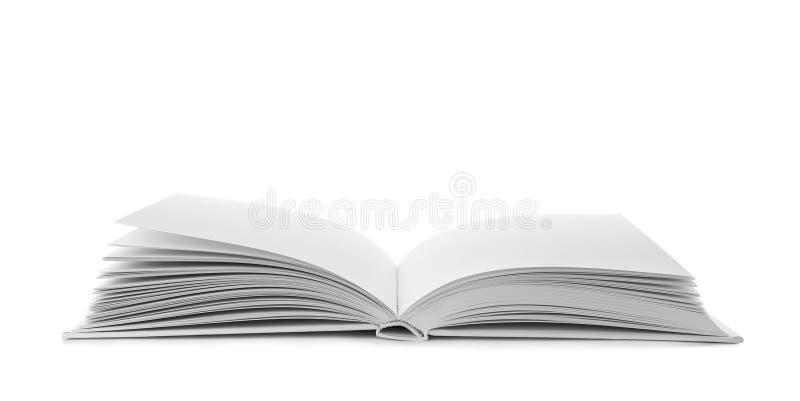 Open boek met harde dekking royalty-vrije stock afbeeldingen
