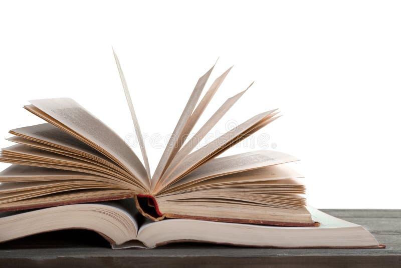 Open Boek op Bovenkant een Open Boek royalty-vrije stock fotografie