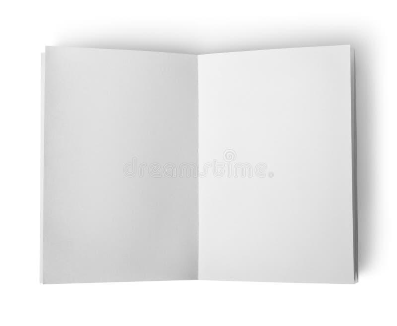 Open bokar isolerat arkivbilder