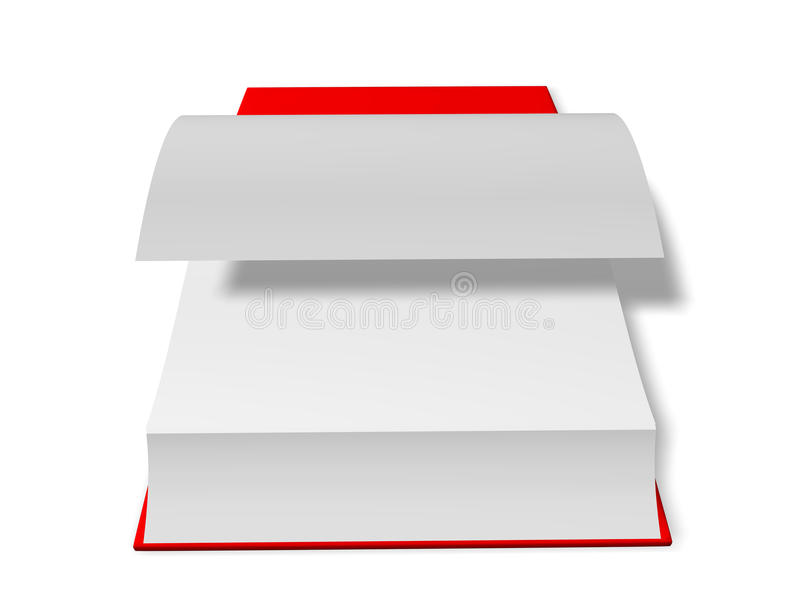 Download Open book stock illustration. Image of textbook, literature - 10382135