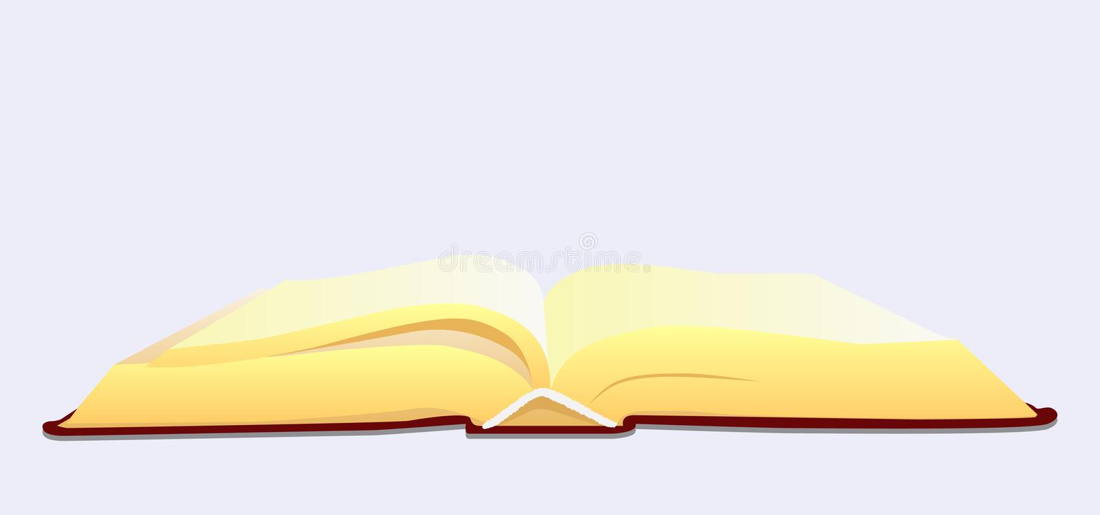 Download Open book stock vector. Image of education, wisdom, blank - 11146462