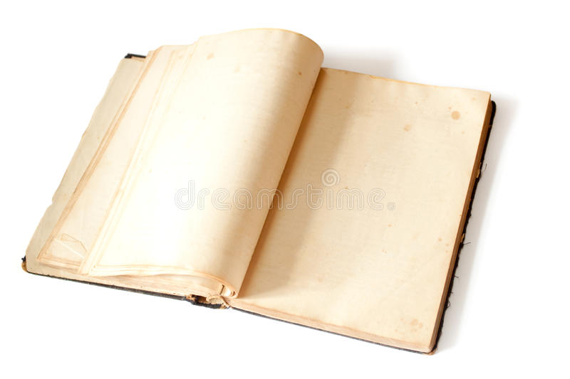 Download Open book stock image. Image of blank, yellowed, copy - 11940363