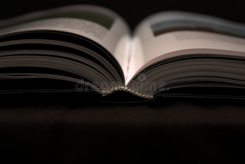 Open book stock image