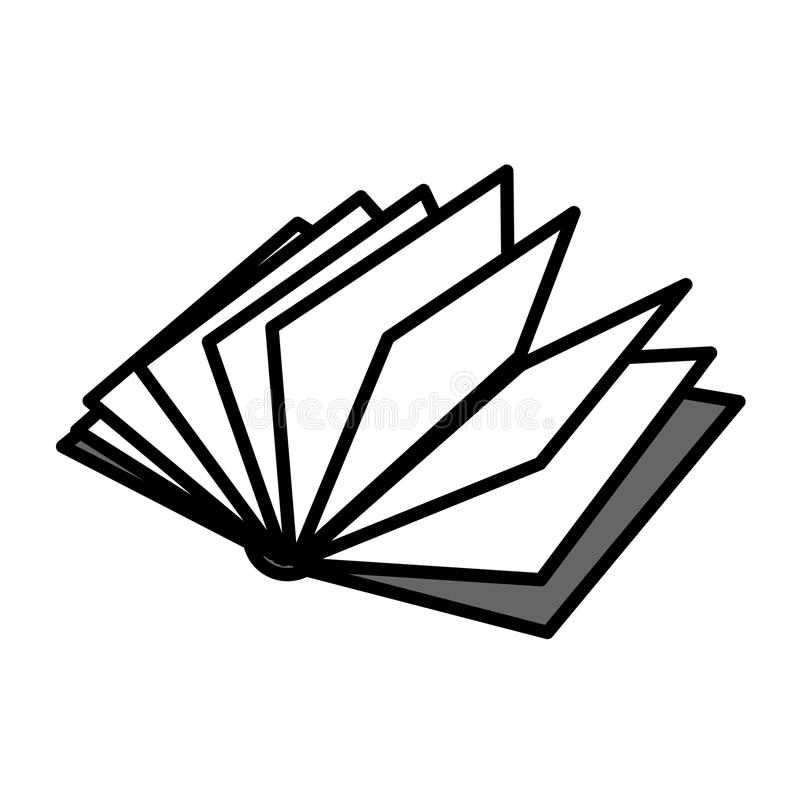 Download Open book stock vector. Image of history, library, pages - 14373929