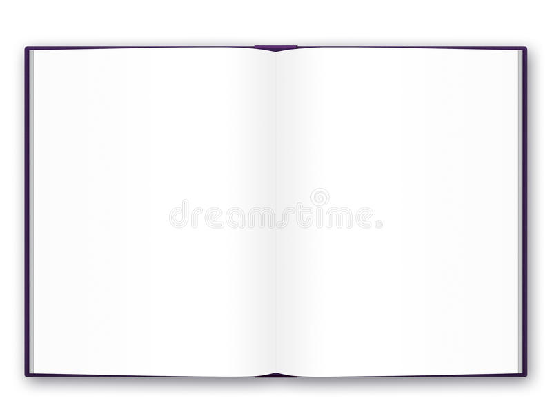 Download Open book stock illustration. Image of page, hardcover - 14670572