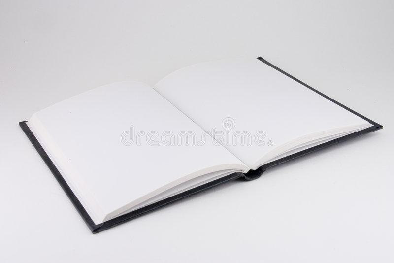 Open book #2 royalty free stock photos
