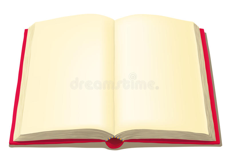 Download Open book stock vector. Image of vector, blank, white - 21466869