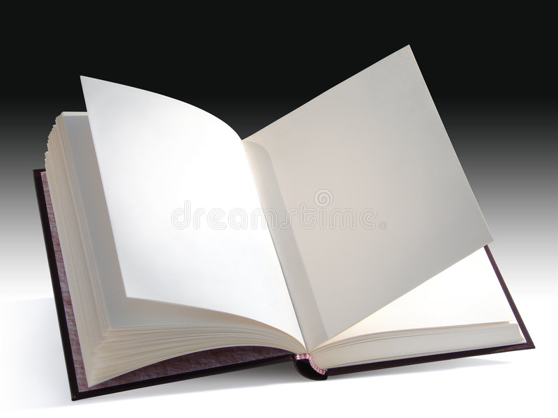 Download Open book stock image. Image of guide, learn, empty, encyclopedia - 2199899