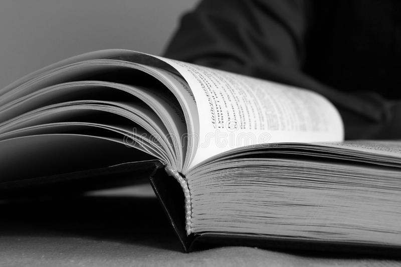Download Open book stock photo. Image of text, paper, education - 22059624
