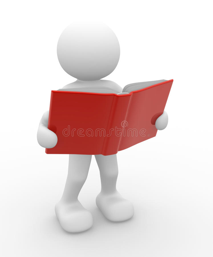 Open book stock illustration