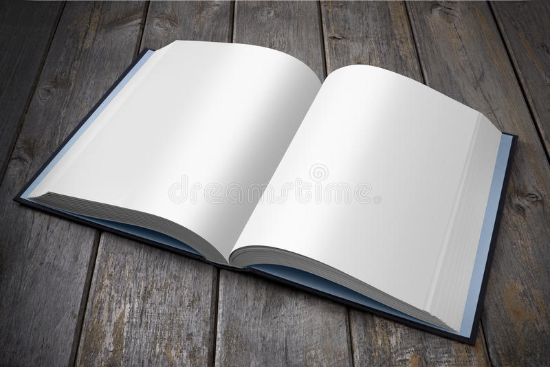 Download Open Book stock photo. Image of blank, background, wood - 24067278
