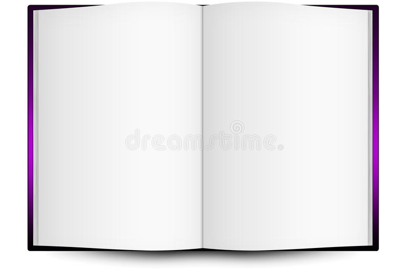 An Open Book. Royalty Free Stock Photography