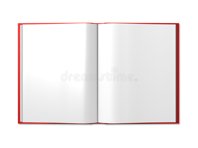 Download An Open book stock illustration. Image of isolation, clear - 5285054