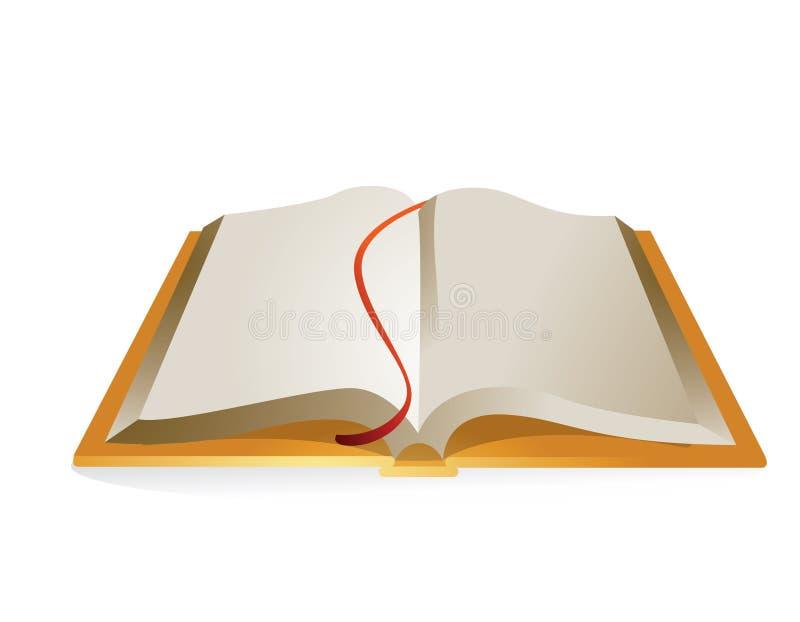 Download Open Book stock vector. Image of magic, novel, information - 8621227