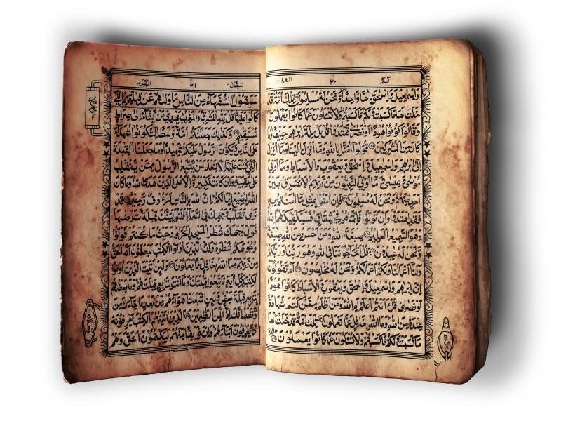 Open Book Al-Quran Royalty Free Stock Photos