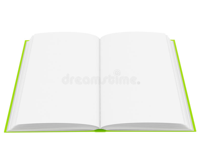 Download Open Book With Blank Pages Royalty Free Stock Images - Image: 29956249