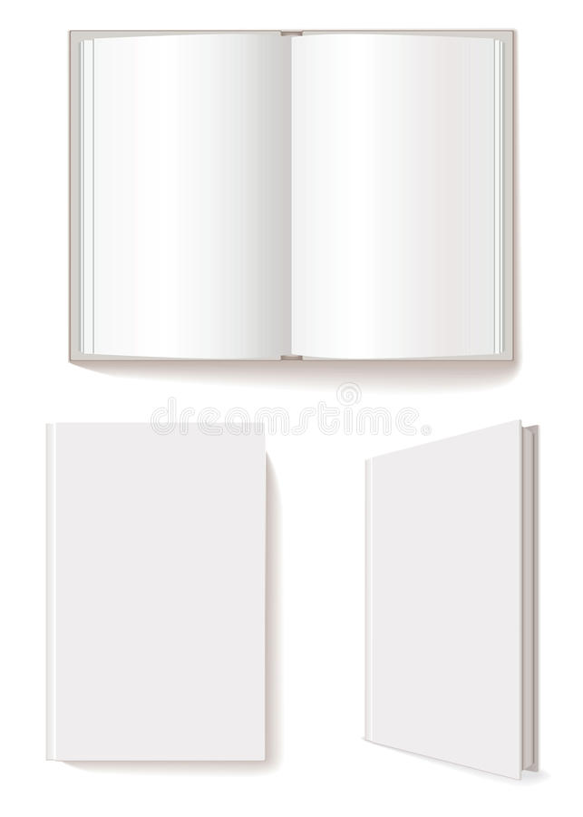 Blank Book Cover Vector Illustration Free ~ Open book closed stock vector image