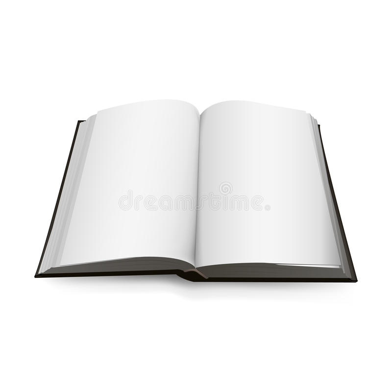 Open Book 3d isolated on background. Vector illustration. vector illustration