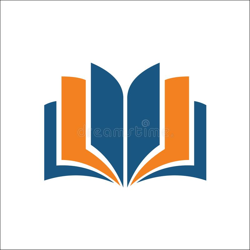 Open book icon. Simple illustration of open book vector icon for web stock illustration