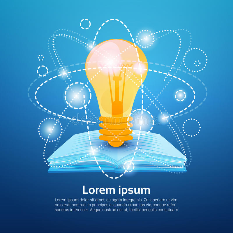 Free Open Book Light Bulb School Education Knowledge Concept Royalty Free Stock Photos - 86280568