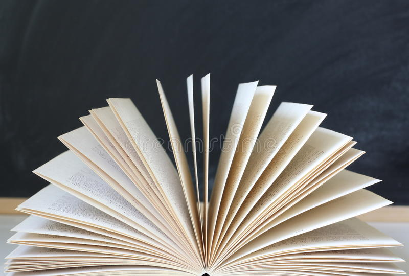 Open Book Pages stock images