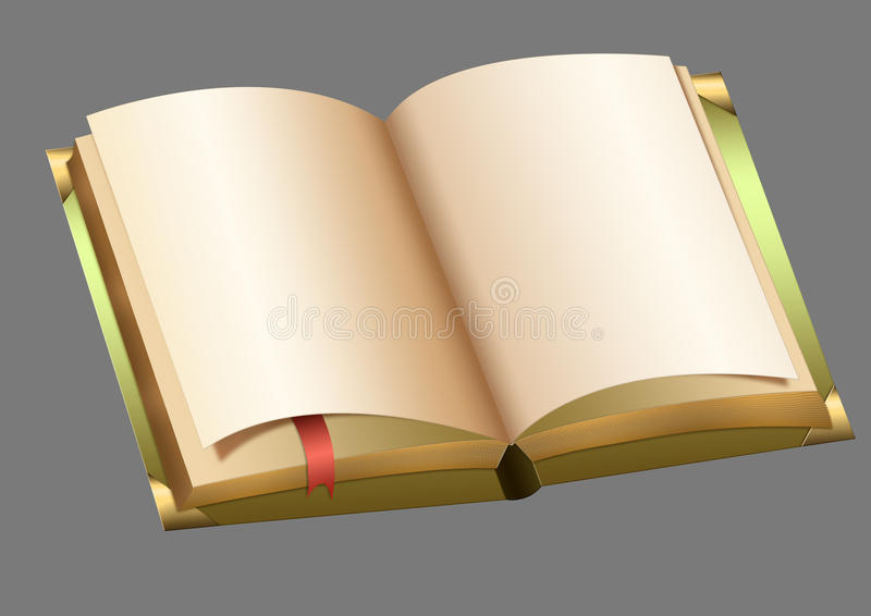 Download An open book stock illustration. Image of design, opening - 33187087