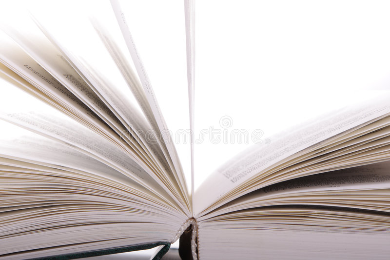 Download Open book sideview stock photo. Image of sideview, pages - 4391700