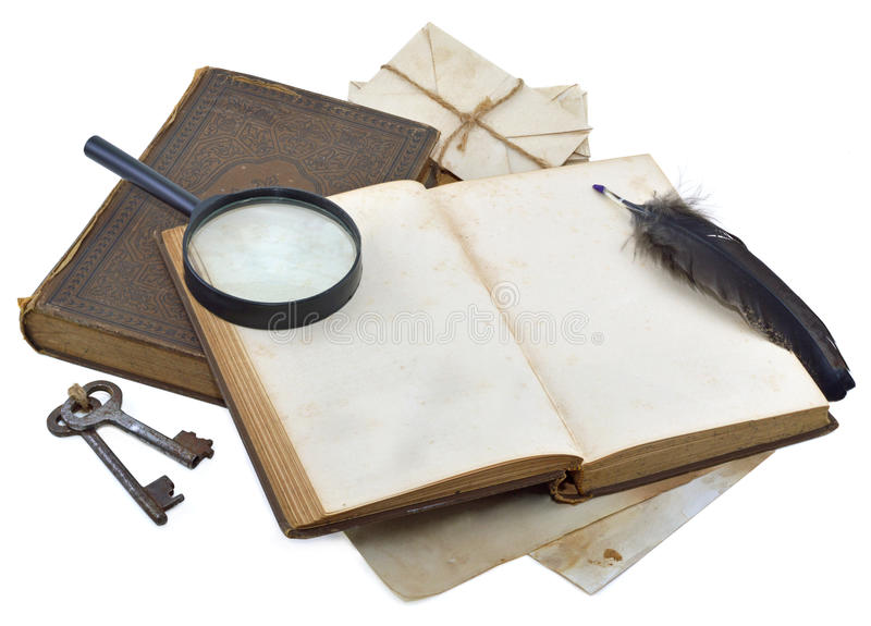 Download Detective diary stock image. Image of beagle, files, history - 30251403