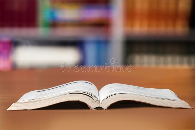 Open book. Studying literature wallpaper wisdom spark mystery royalty free stock photo