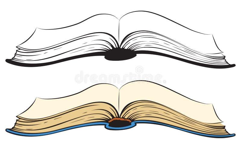 Download Open book. Vector sketch stock vector. Illustration of information - 51798755