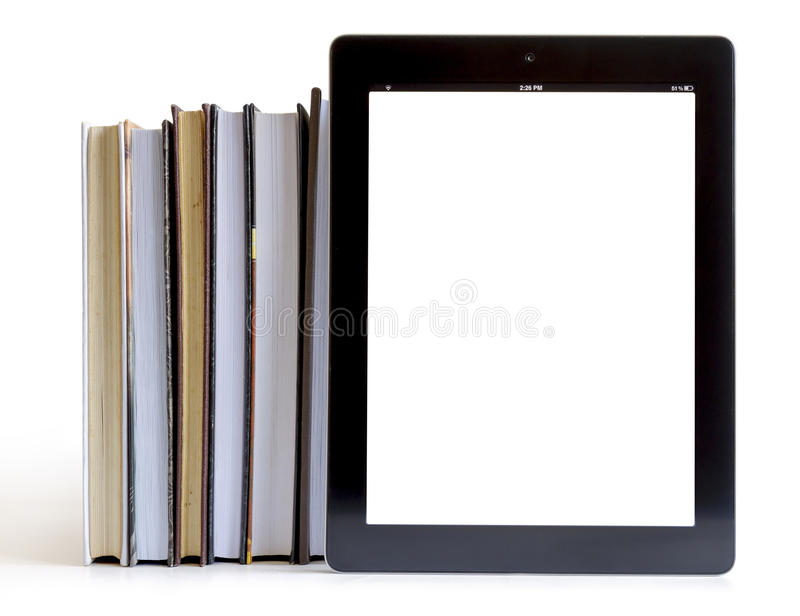 Download Open Books On Tablet Pc Concept Royalty Free Stock Photo - Image: 26561125