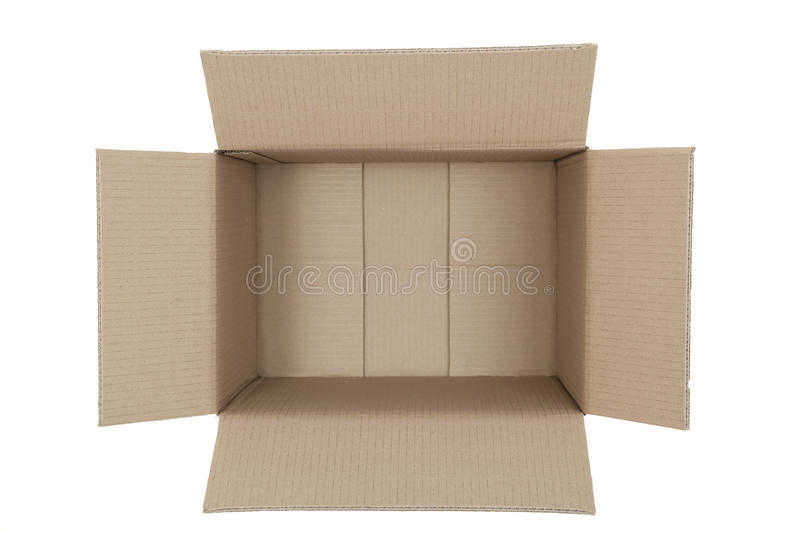 open box stock photo image of close brown empty cardboard 21598298. Black Bedroom Furniture Sets. Home Design Ideas