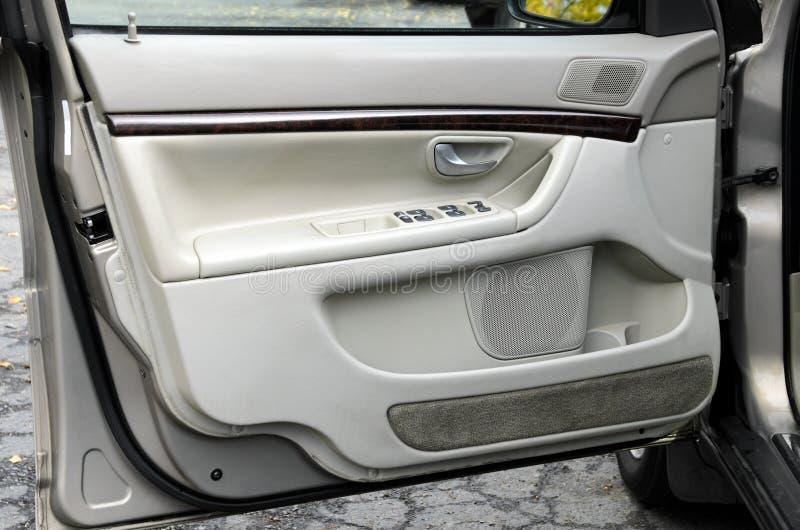 Open car door royalty free stock photos
