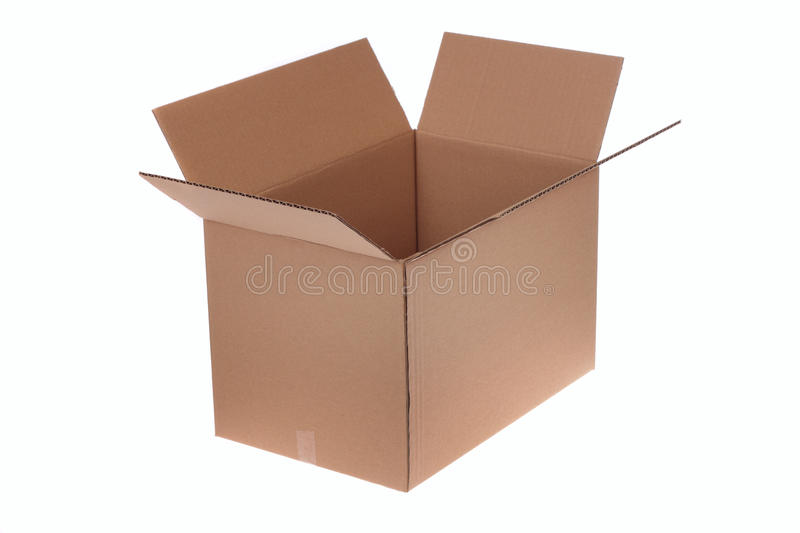 Download Open cardboard box stock photo. Image of shipping, isolated - 13061586