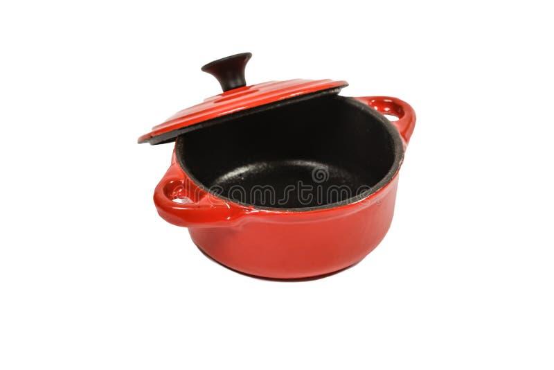 Open casserole royalty free stock image