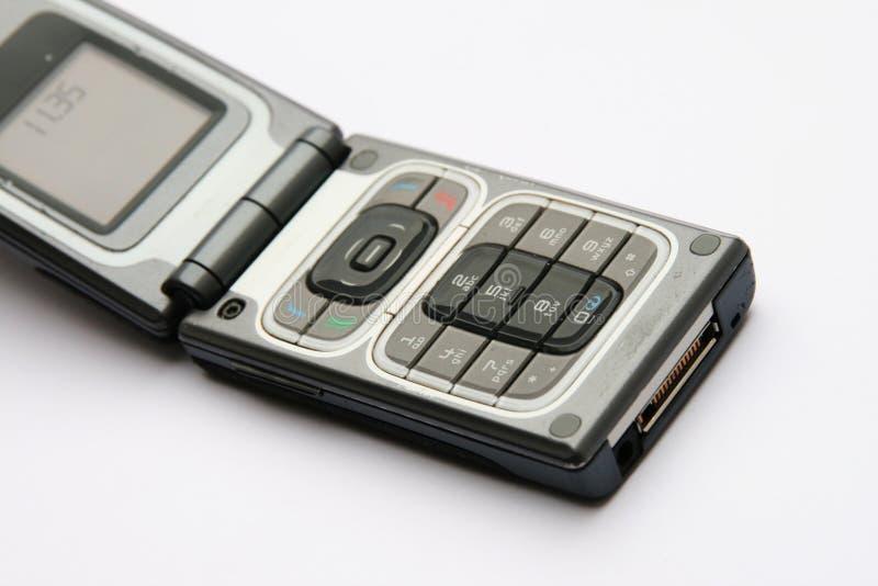Open celtelefoon stock foto