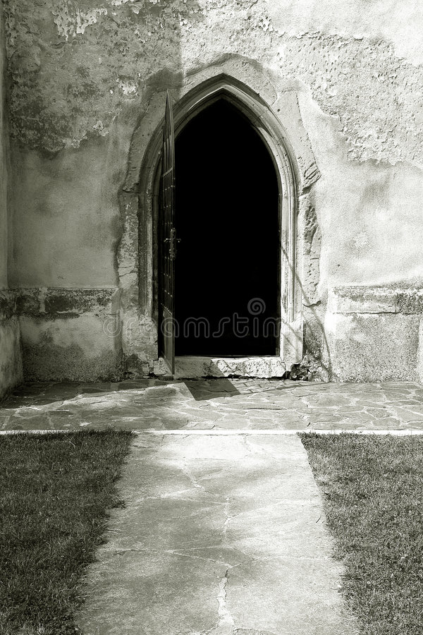 Free Open Church Door Stock Photos - 2822563