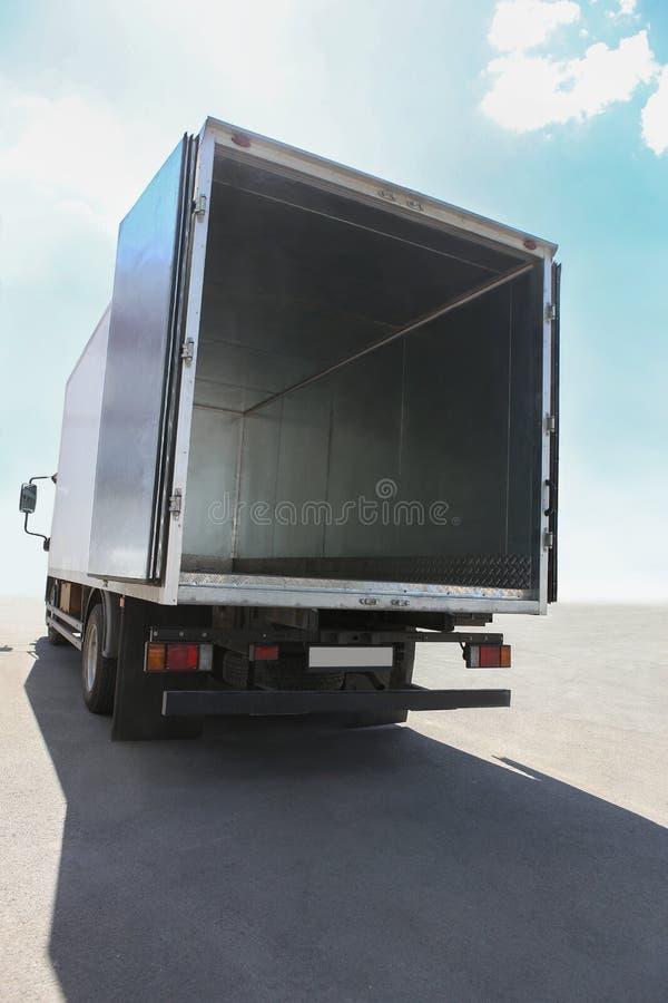 Open container van de vrachtwagen royalty-vrije stock foto's